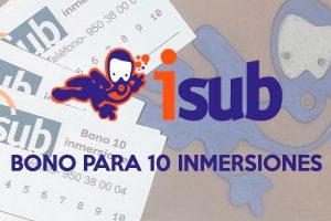 isub INMERSIONES 4 300x200 - Bono para 10 Inmersiones